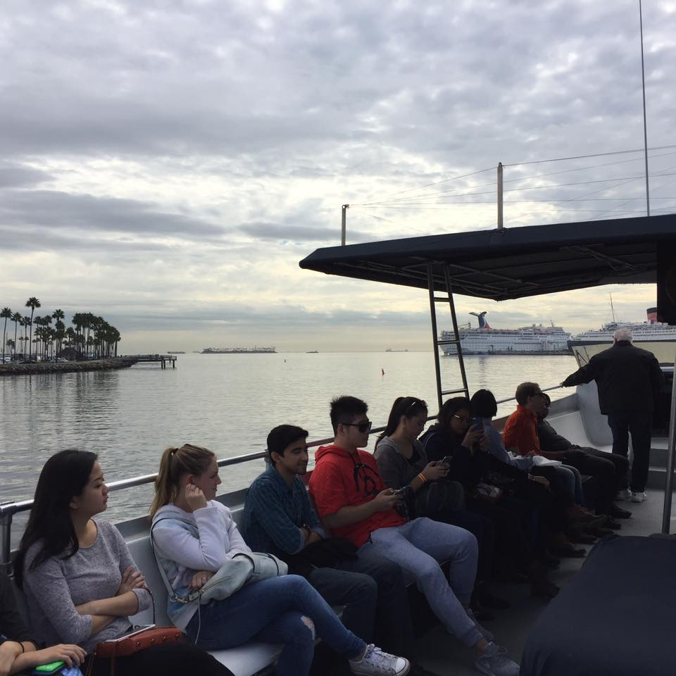 Port of Long Beach Boat Tour
