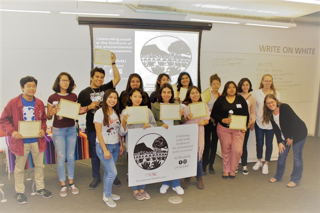 Youth from across Los Angeles gather for LA Youth for Environmental Justice Forum